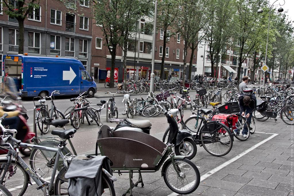 амстердам велопарковка