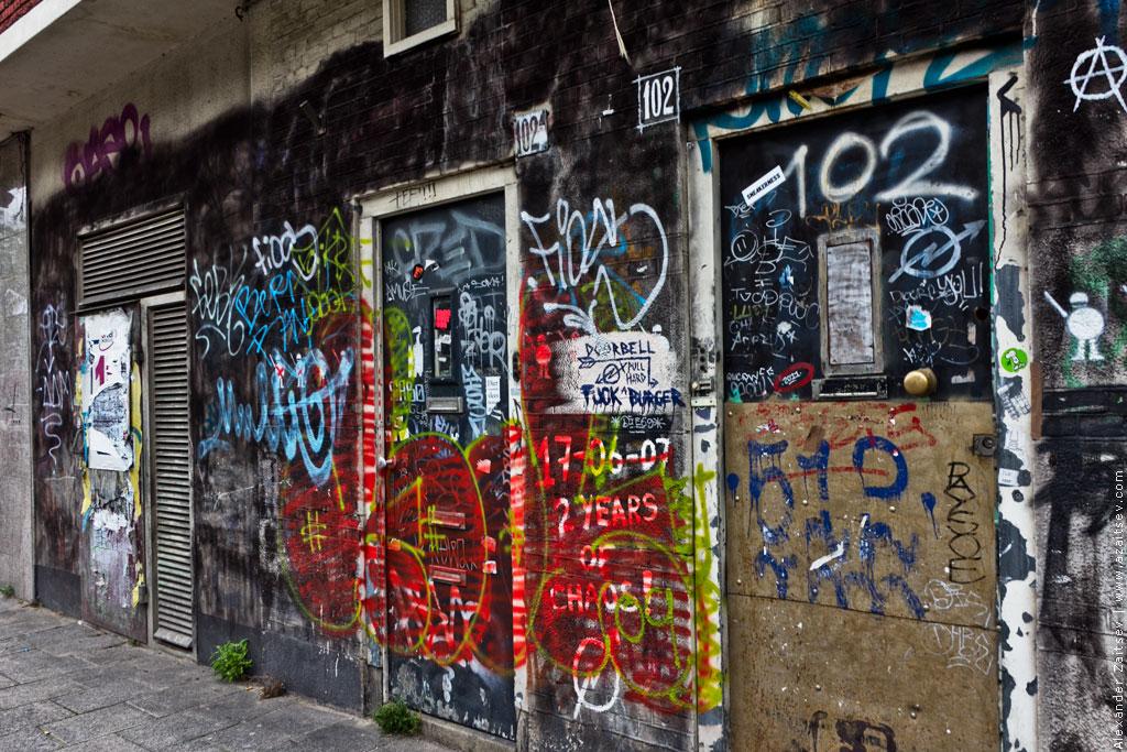 амстердам граффити