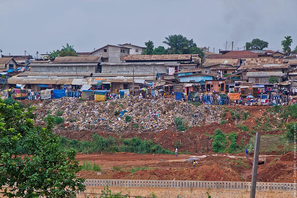 Нищета в Камеруне