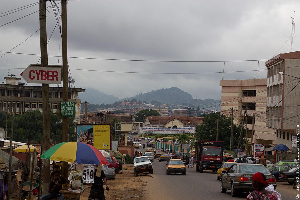 Камерун дорожное движение