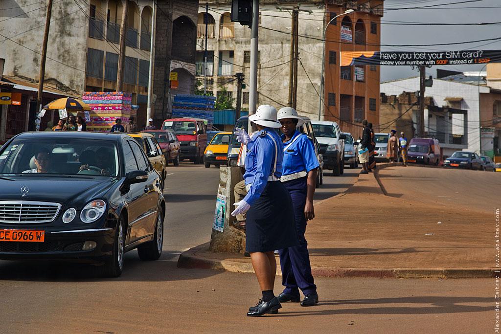 Камерун ГАИ