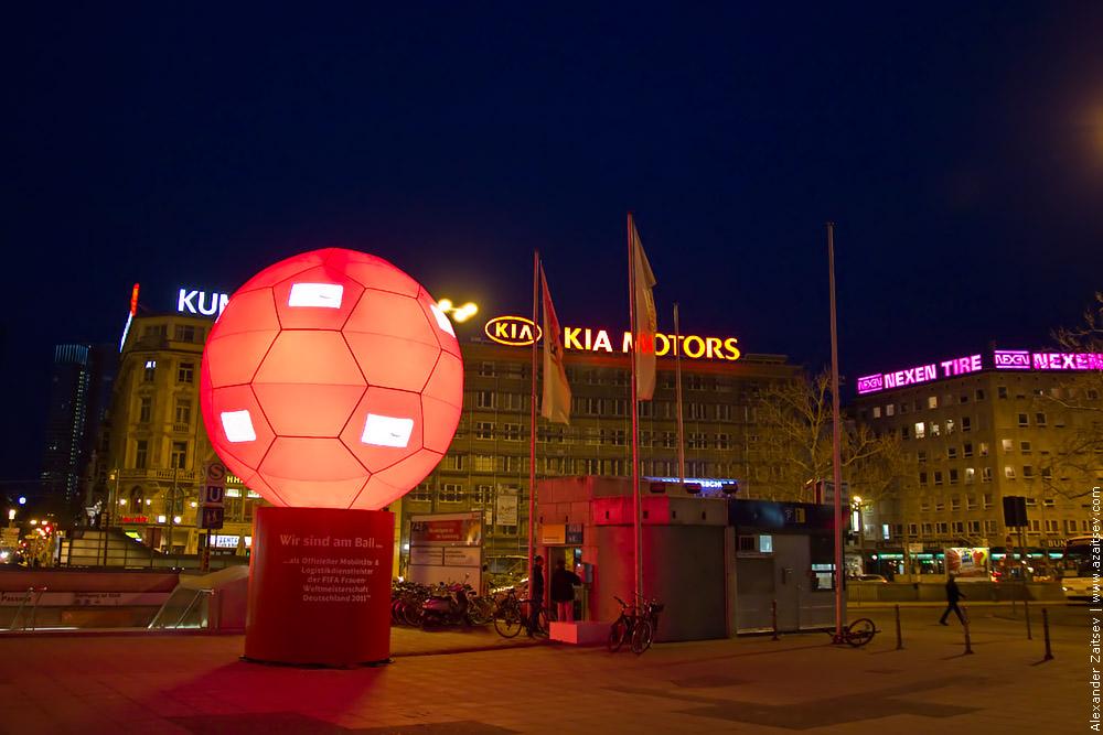 Вокзал Франкфурт
