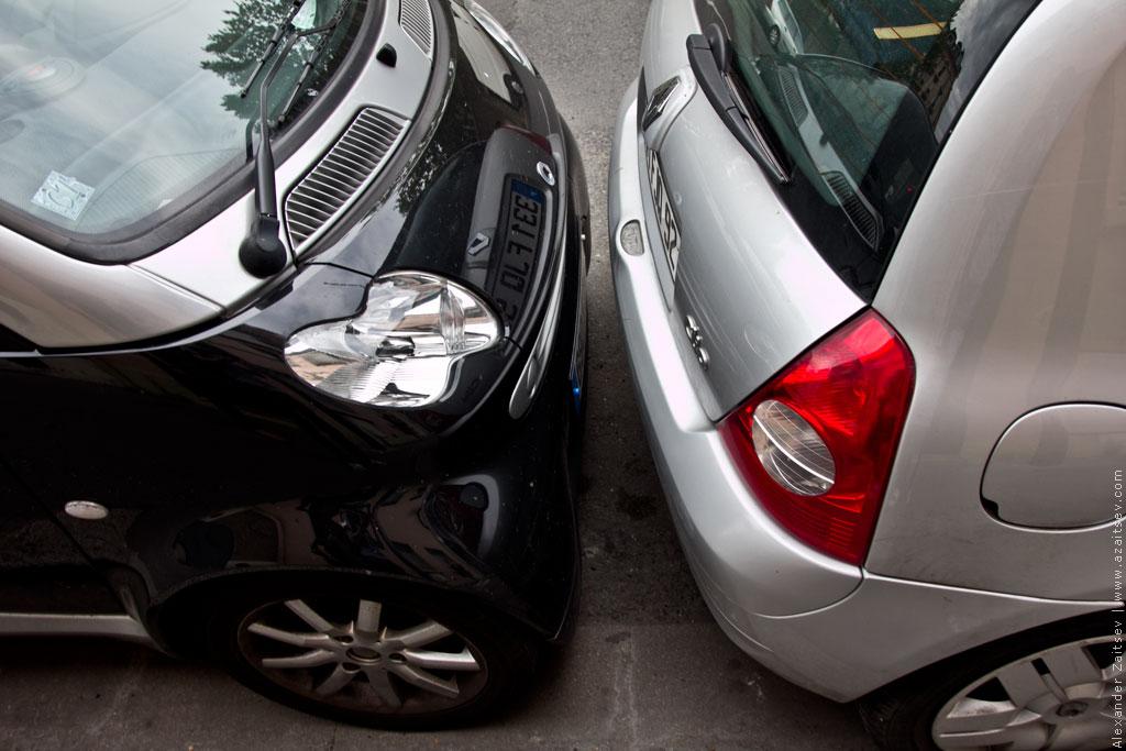 париж парковки