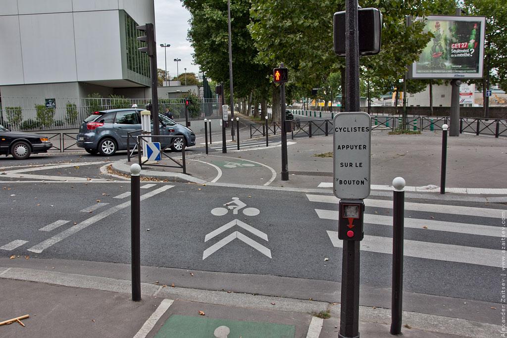 париж велодорожки