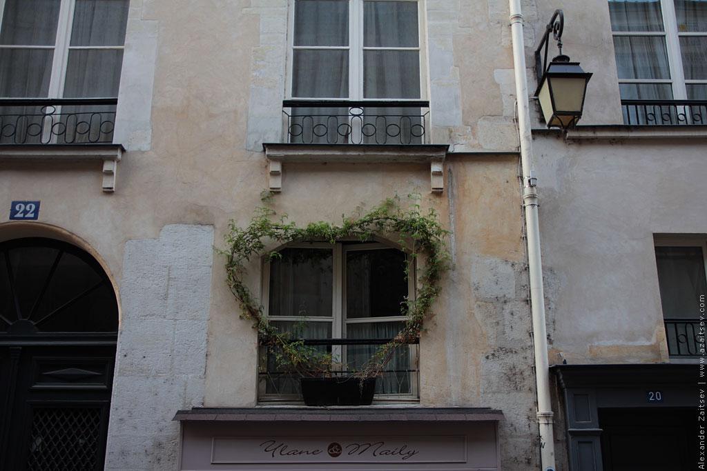 оформление зданий париж