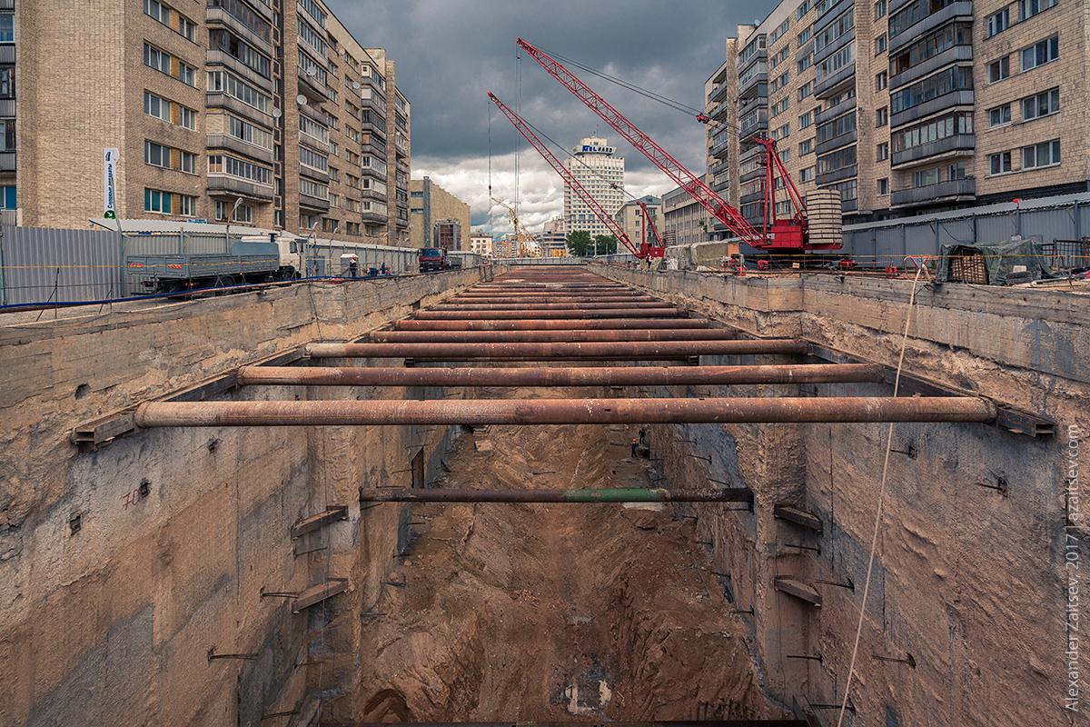 метрострой Минск 2017