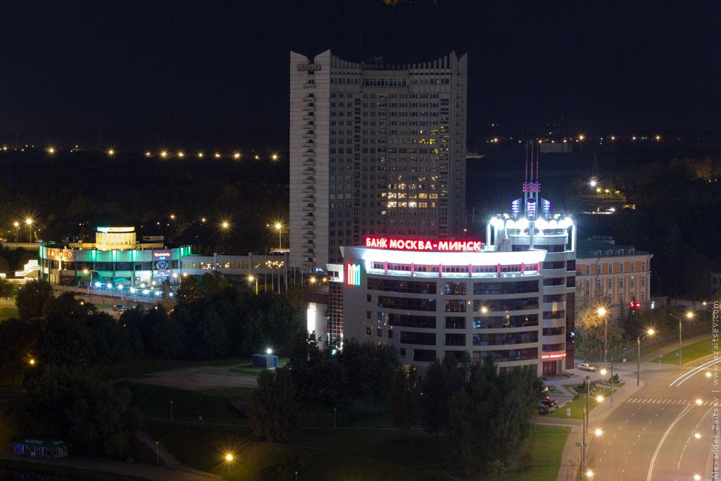 минск немига ночью