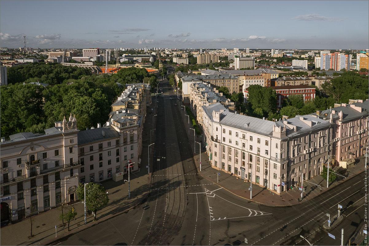 улица ульяновская с крыши гостиницы экспресс