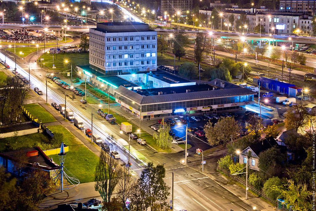 улица московская с крыши минска
