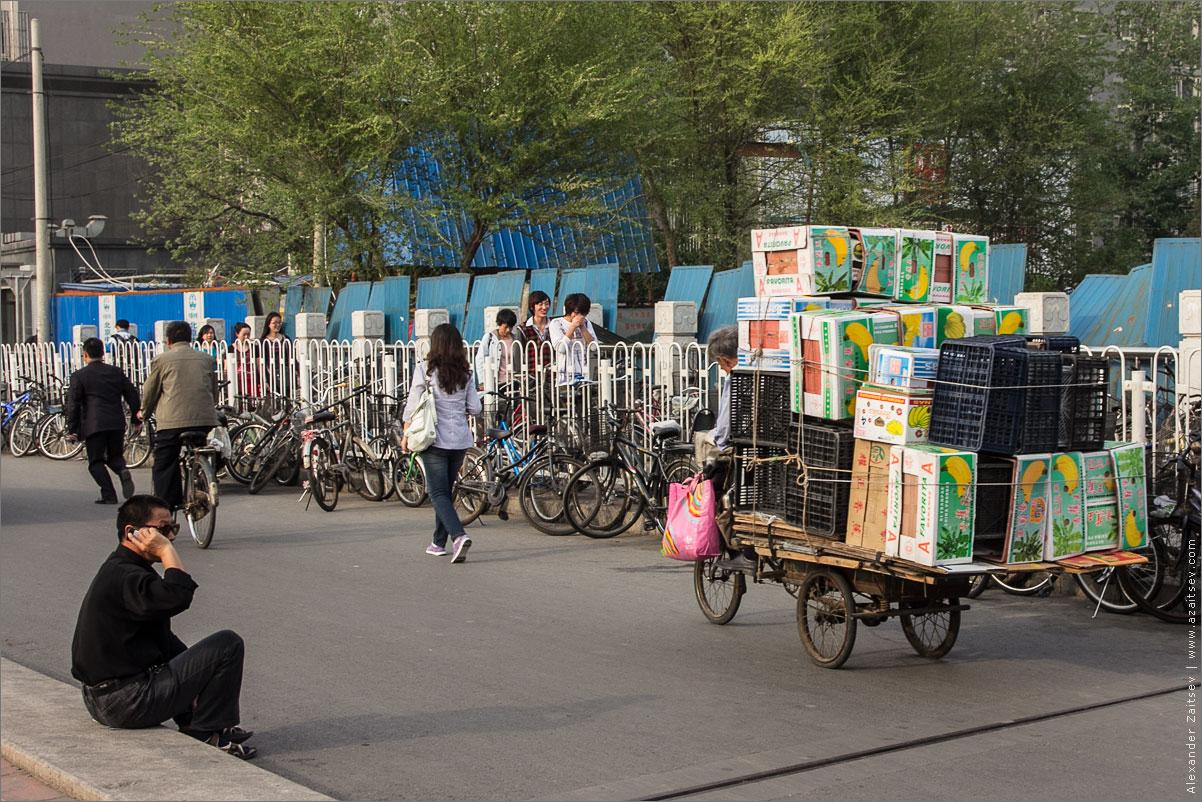 велосипедисты пекина