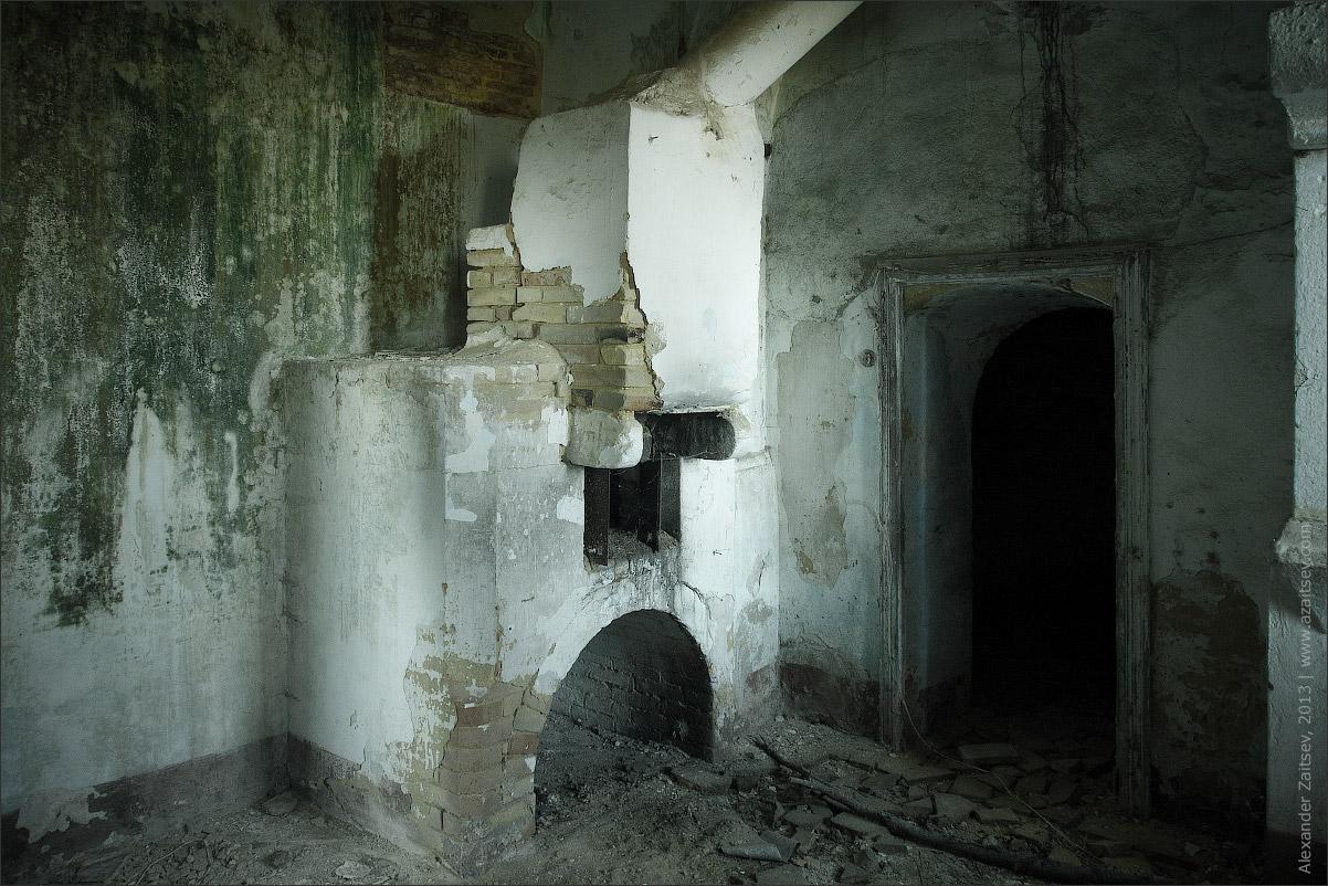 Заброшенный город Крако, Италия