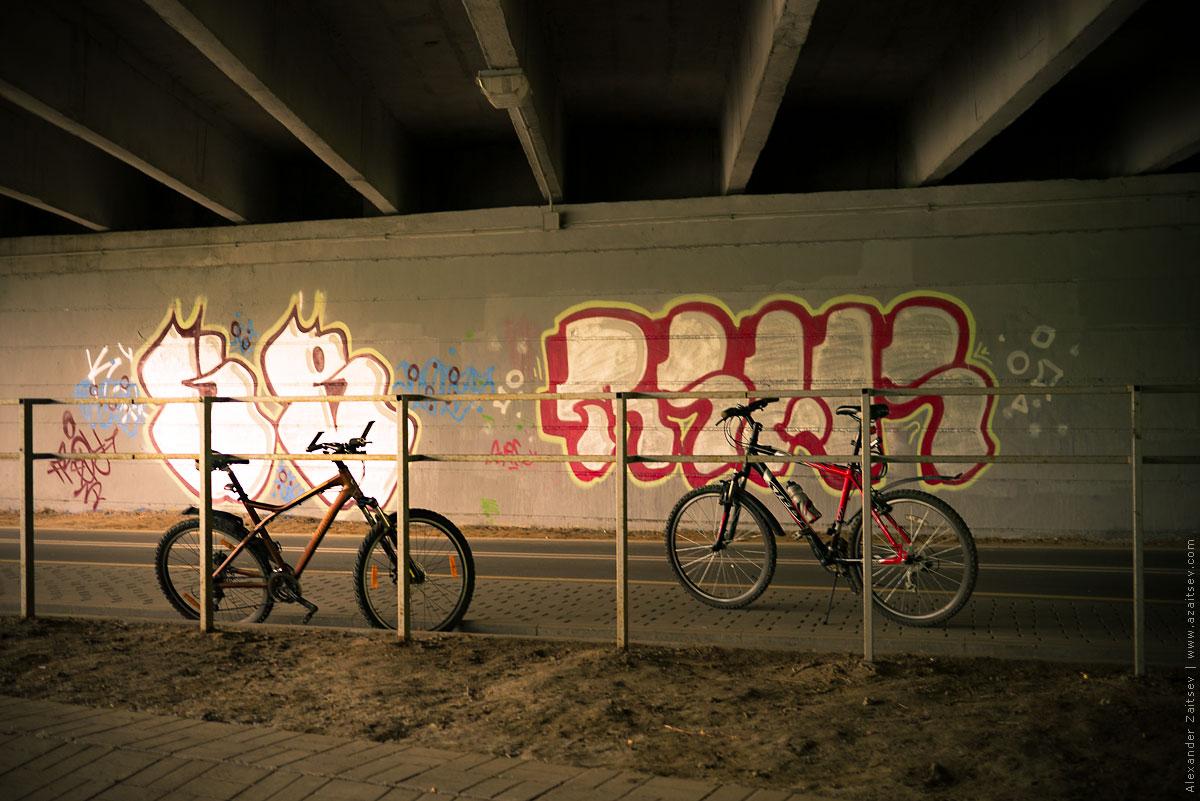велодорожка Минска