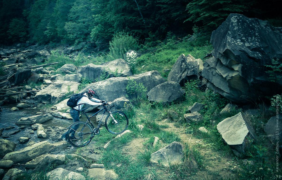 велопоездка в карпаты 2013